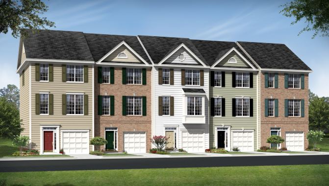 Morgan - Greenfield Townhomes: Hagerstown, MD - Beazer Homes