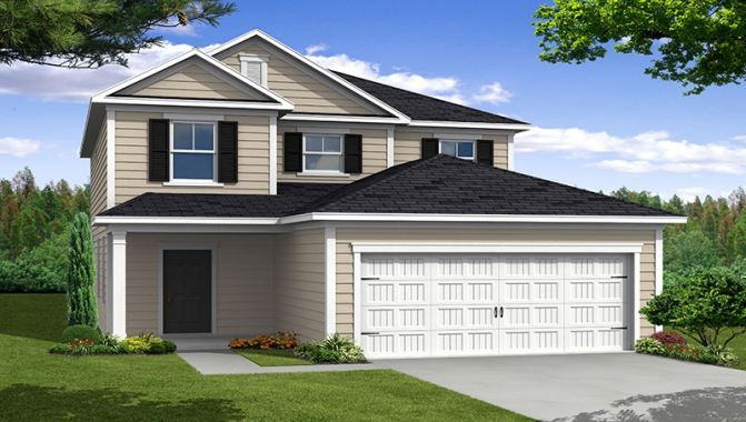 Kennedy - Cypress Manor at Spring Grove: Moncks Corner, SC - Beazer Homes