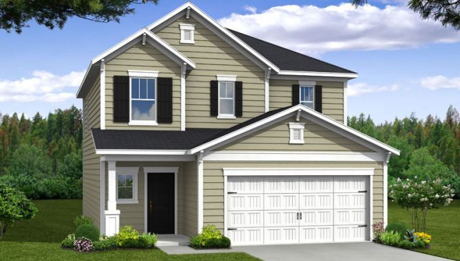 Wilson - Cypress Manor at Spring Grove: Moncks Corner, SC - Beazer Homes