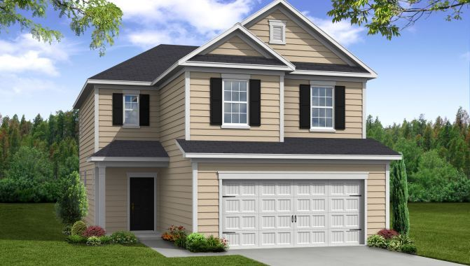 Jackson - Cypress Manor at Spring Grove: Moncks Corner, SC - Beazer Homes