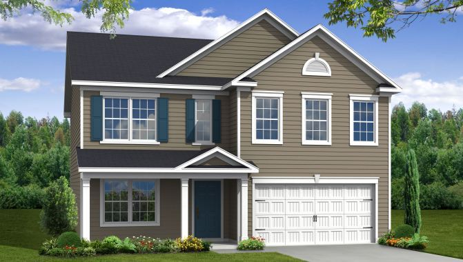 Madison - The Enclave at Gregorie Ferry: Mount Pleasant, SC - Beazer Homes