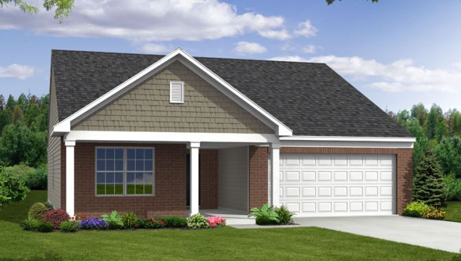 Dover - Lakes at Prairie Crossing: Noblesville, IN - Beazer Homes