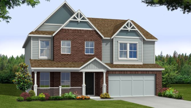Juniper - Highland Green: Brownsburg, IN - Beazer Homes