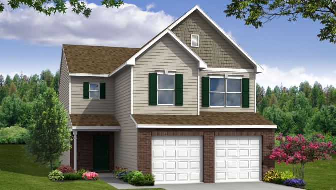 Manchester - Lakes at Prairie Crossing: Noblesville, IN - Beazer Homes