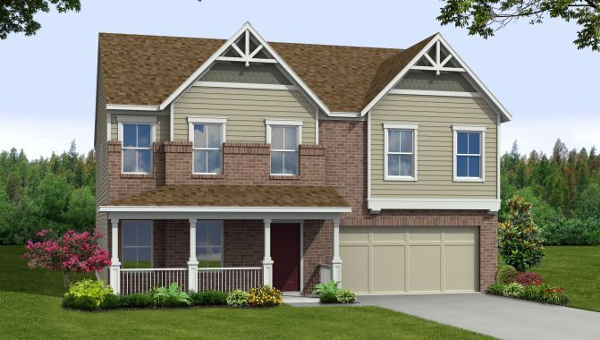 Jefferson - Burberry Park at Prestwick: Avon, IN - Beazer Homes