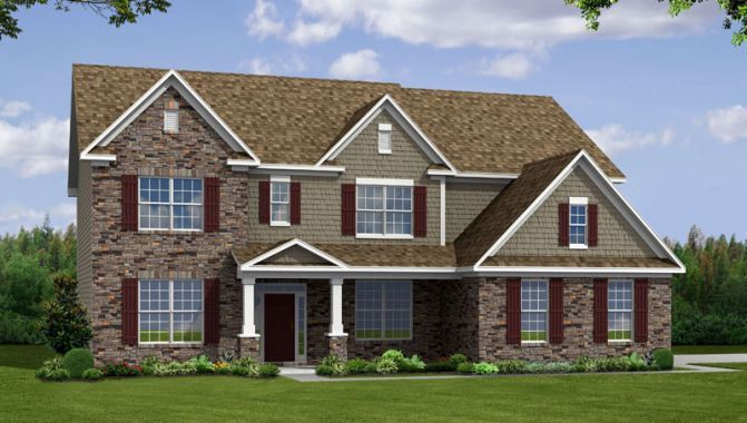 Ohara - Estates at Lochaven: Noblesville, IN - Beazer Homes