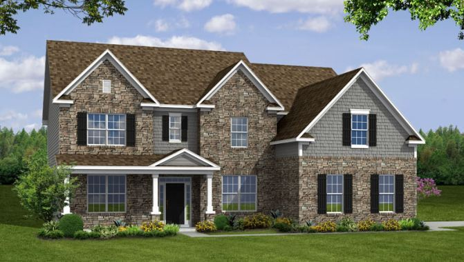 Tara - Estates at Lochaven: Noblesville, IN - Beazer Homes