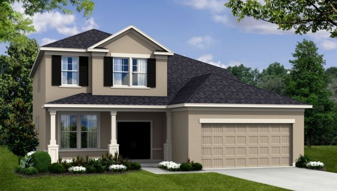 Newbury II - Sawgrass Manors: Orlando, FL - Beazer Homes