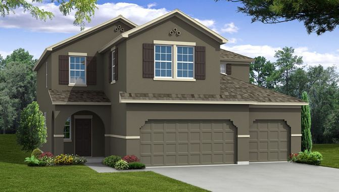 Captiva - Woodland Lakes Preserve: Orlando, FL - Beazer Homes