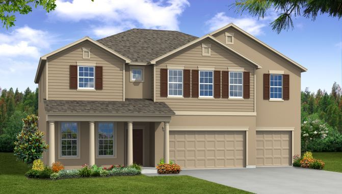 Sequoia - The Reserve at Dupree Lakes: Land O Lakes, FL - Beazer Homes