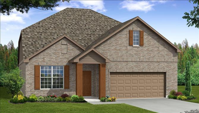 Cadmar - Paloma Creek South: Little Elm, TX - Beazer Homes