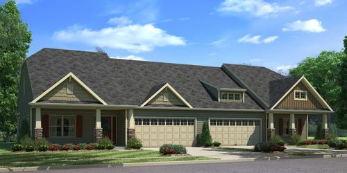 Emerald Green Village by Benchmark Communities in Charlotte North Carolina