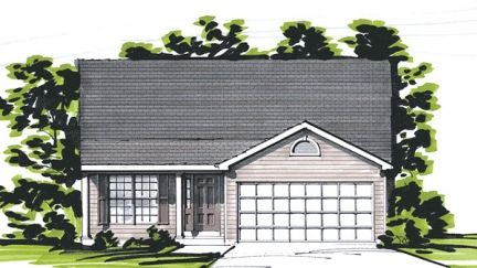 The Villas at Magnolia by Benton Homebuilders in St. Louis Missouri