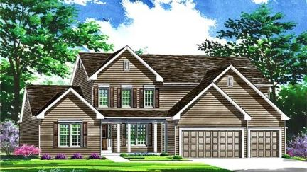 The Woodlands at Bear Creek by Benton Homebuilders in St. Louis Missouri