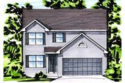 The Kent II - The Manors at Hyland Green: O Fallon, MO - Benton Homebuilders