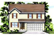 The Ryan II - Brookside Manor: O Fallon, MO - Benton Homebuilders