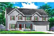 The Dover II - Brookside Manor: O Fallon, MO - Benton Homebuilders