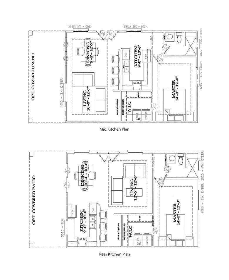 Rv casita model at retama village at bentsen palm in for House plans mcallen tx