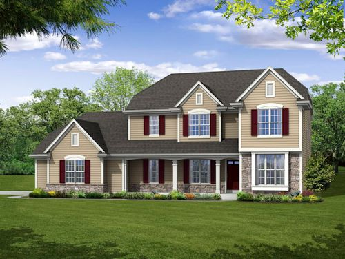 house for sale in Fox Chase by Bielinski Homes, Inc.