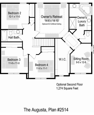 Optional 2nd Floor Layout