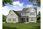 The Stratford, Plan #2350 with 3-car Garage - Prairie Meadow: West Bend, WI - Bielinski Homes, Inc.