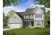 The Stratford, Plan #2556 with 2-car Garage - Highland Creek: Jackson, WI - Bielinski Homes, Inc.