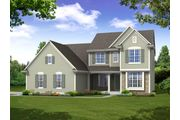 The Stratford, Plan #2556 with 3-car Garage - Prairie Meadow: West Bend, WI - Bielinski Homes, Inc.