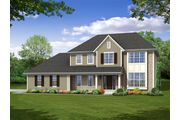 The Hamilton II, Plan #2428 with 3-car Garage - Prairie Meadow: West Bend, WI - Bielinski Homes, Inc.