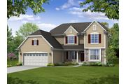 The Stratford II, Plan #2600 with 2-car Garage - Prairie Meadow: West Bend, WI - Bielinski Homes, Inc.
