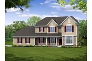 The Stratford II, Plan #2600 with 3-car Garage - Prairie Meadow: West Bend, WI - Bielinski Homes, Inc.