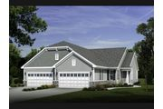 The Carnation, Plan #1517-R1 - Condominium - Bay Pointe Condominiums: Oconomowoc, WI - Bielinski Homes, Inc.