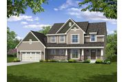 The Hamilton, Plan #2444 with 2-car Garage - Highland Creek: Jackson, WI - Bielinski Homes, Inc.