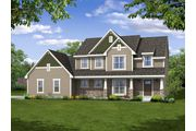 The Hamilton, Plan #2444 with 3-car Garage - Prairie Meadow: West Bend, WI - Bielinski Homes, Inc.