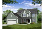 The Augusta, Plan #2514 with 2-car Garage - Prairie Meadow: West Bend, WI - Bielinski Homes, Inc.