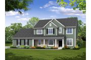 The Augusta, Plan #2514 with 3-car Garage - Highland Creek: Jackson, WI - Bielinski Homes, Inc.
