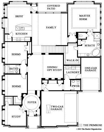 Primrose V-Floor Plan