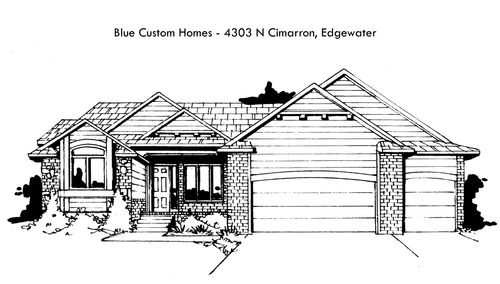 Edgewater - Entry 46 by Blue Custom Homes, LLC in Wichita Kansas