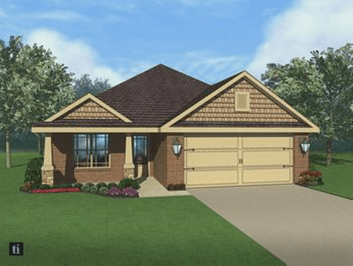 Oak Brook by Breland Homes in Huntsville Alabama