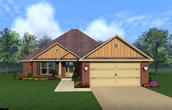 The Willows by Breland Homes in Huntsville Alabama