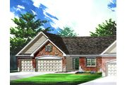 Clayton Attached - Villas at Ohmes Farm: Saint Peters, MO - Bridgewater Communities, Inc.