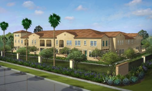house for sale in El Paseo at the Village of Foothill Ranch by Brookfield Residential SoCal