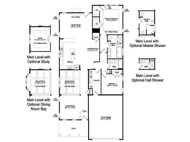 Single Family for Sale at Eagle Springs At Heritage Shores-Redmund Ii 34 Royal View Drive Bridgeville, Delaware 19933 United States