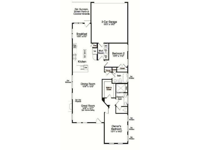 Single Family for Sale at Eagle Springs At Heritage Shores-Abbott 34 Royal View Drive Bridgeville, Delaware 19933 United States