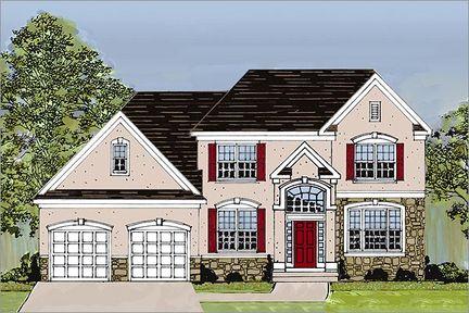 The Augusta - Sturbridge Hill: Voorhees, Pennsylvania - Bruce Paparone, Inc.
