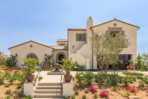 Ravello at CIELO Ranch Santa Fe by California West Communities in San Diego California
