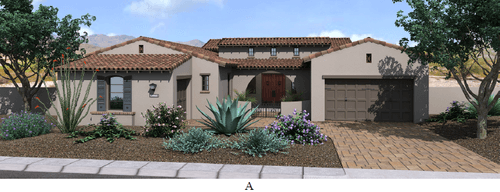 Bocara by Camelot Homes in Phoenix-Mesa Arizona
