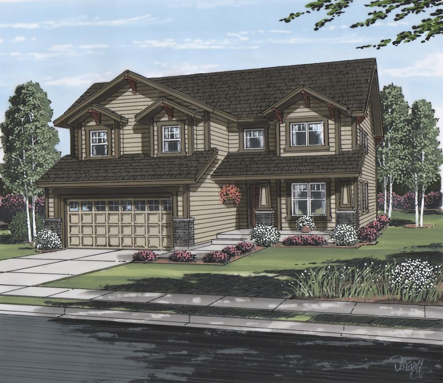 Single Family for Sale at Cordera - Cambridge 4348 Outlook Ridge Trail Colorado Springs, Colorado 80924 United States