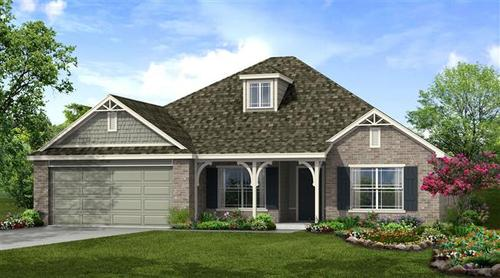 Forest Ridge by Capital Homes in Tulsa Oklahoma