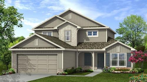 Southern Reserve by Capital Homes in Tulsa Oklahoma