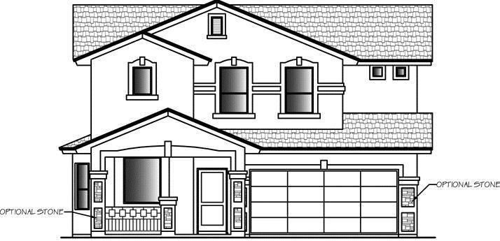 Unifamiliar por un Venta en Horizon Hills Estates - Durham 12680 Mark Twain El Paso, Texas 79928 United States